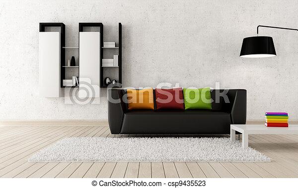 Modern living room - csp9435523