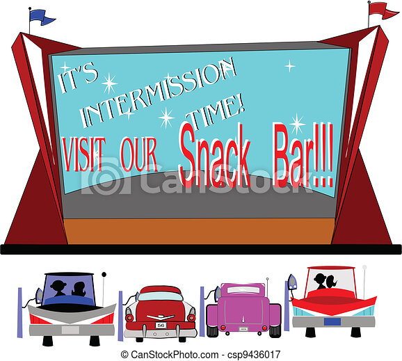 intermission time  - csp9436017