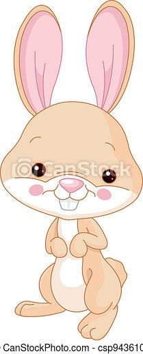 Fun zoo. Bunny - csp9436107