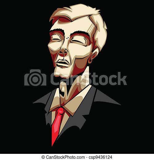 Sad Businessman - csp9436124