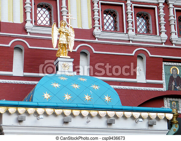 Moscow Iberian Gate Angel 2011 - csp9436673