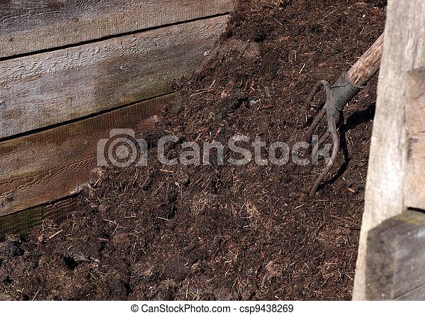 Compost pile - csp9438269
