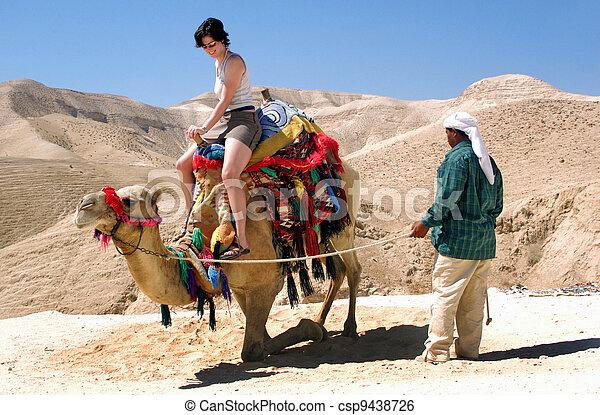 Travel Photos of Israel - Judaean Desert - csp9438726