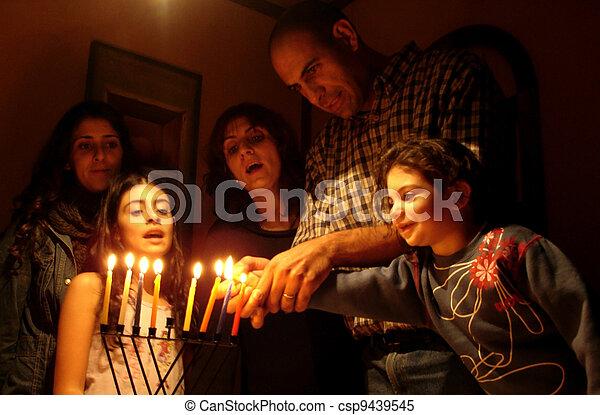 Jewish Holidays Hanukkah - csp9439545