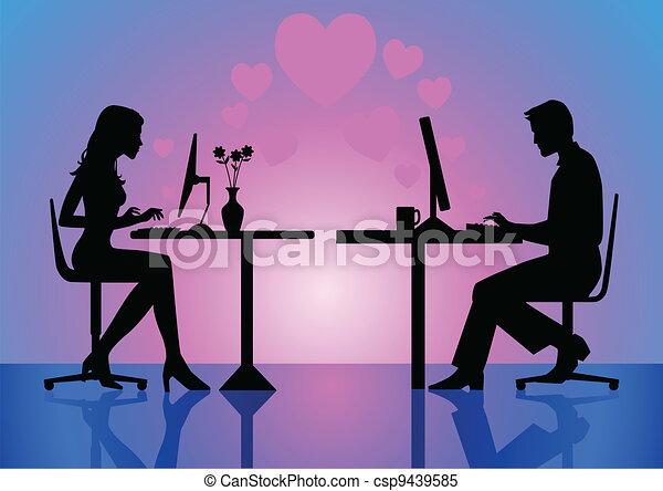 Virtual Love - csp9439585