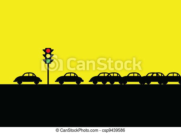 Traffic Jam - csp9439586