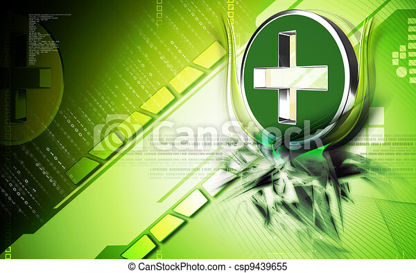 Clinical symbol - csp9439655