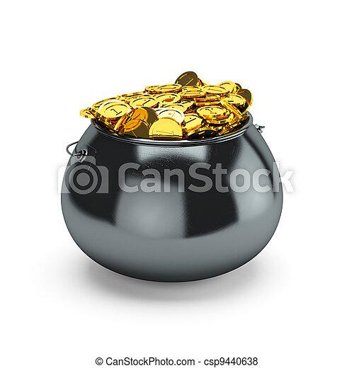 Pot of gold - csp9440638