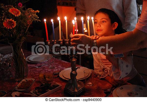 Jewish Holidays Hanukkah - csp9440900