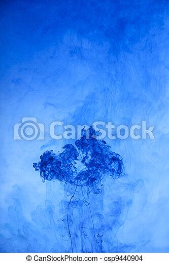 blue smoke, background - csp9440904