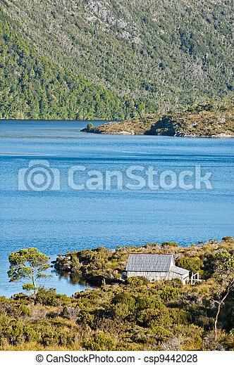 Lake dove cradle mountain, Tasmania - csp9442028