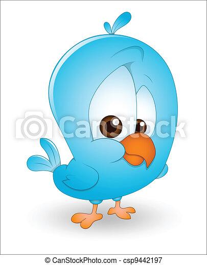 Vectors Illustration Of Cute Baby Bird Creative Design