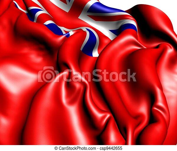 British Red Ensign - csp9442655