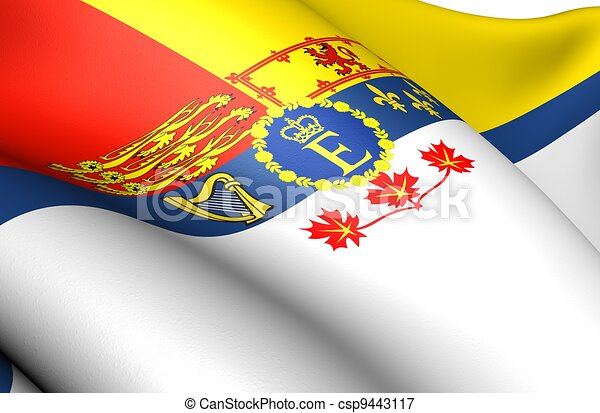 Royal Standard of Canada - csp9443117