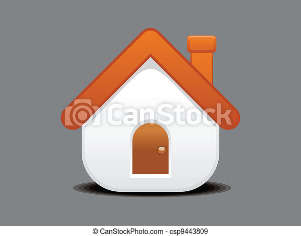 abstract home icon - csp9443809