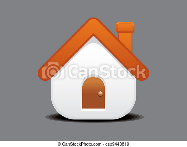 abstract home icon - csp9443819