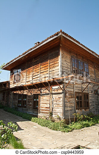 Bulgarian revival house - csp9443959
