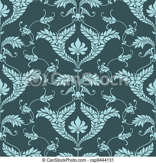 Damask pattern - csp9444131