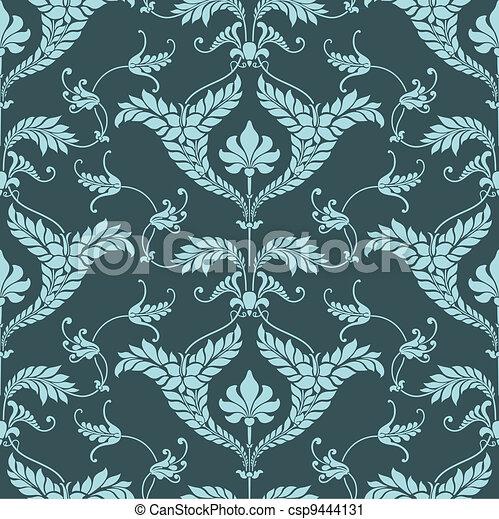 Damask pattern - csp9444131