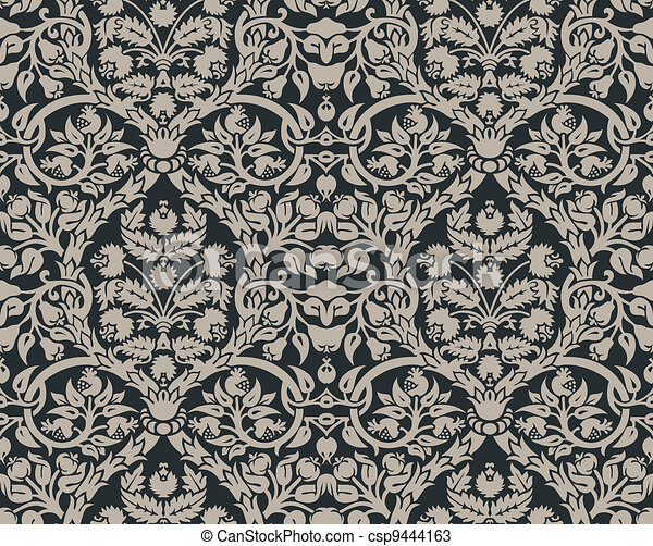 Floral pattern - csp9444163