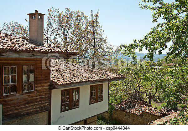 Bulgarian revival house - csp9444344