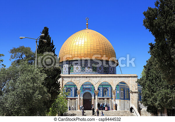 Dome of the Rock, Jerusalem - csp9444532