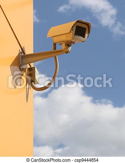 surveillance camera - csp9444854