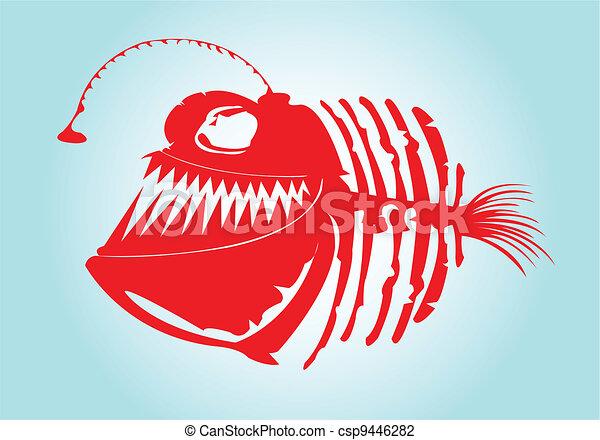 Bone fish Vector Clip Art Royalty Free. 3,398 Bone fish clipart ...