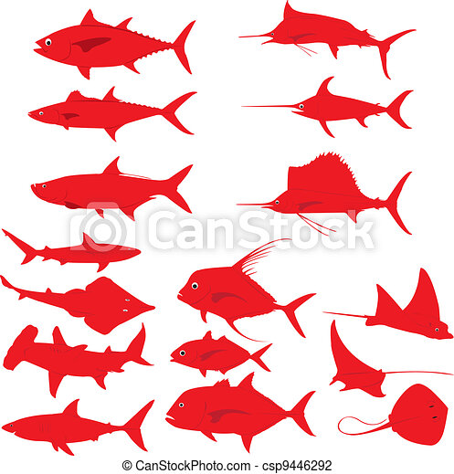 Fishes - csp9446292