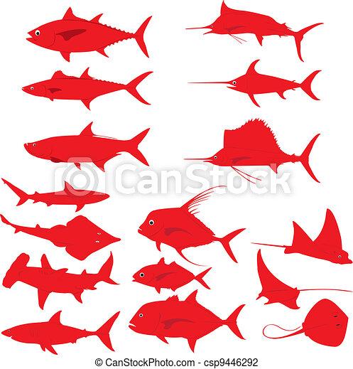Fishes - csp9446292