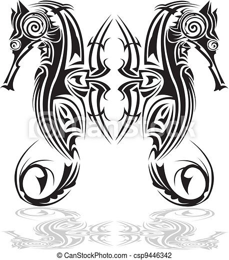 E6 B5 B7 E9 A9 AC E7 AE 80 E7 AC 94 E7 94 BB as well Seahorse Illustration 8022987 moreover 1132110 Royalty Free Clam Clipart Illustration together with Clipart Black And White Jelly Fish 22167 further Tribal Arts 9446342. on seahorse