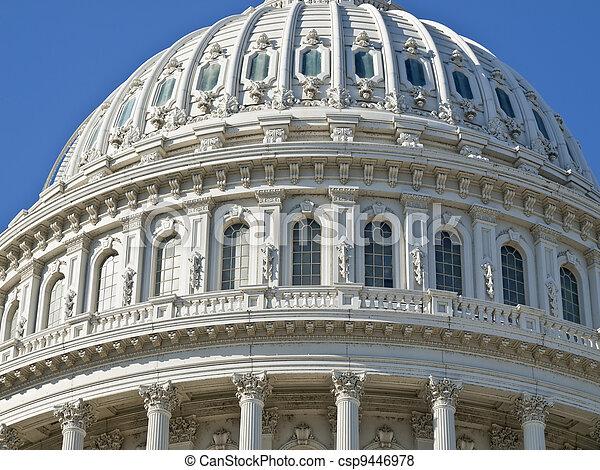 US Capitol Building Dome - csp9446978