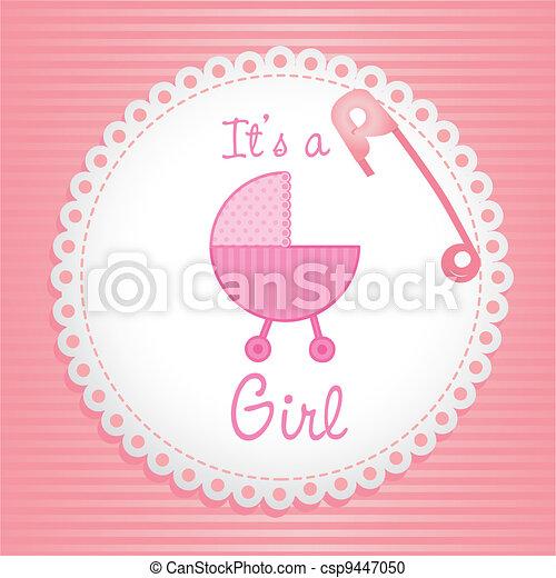Baby Logo Vector Vector Label Baby Shower