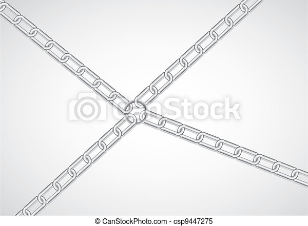 chain link by link  - csp9447275