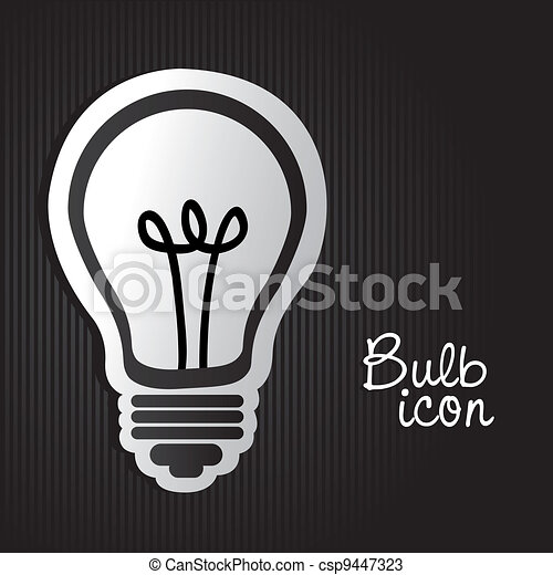 label light bulb - csp9447323