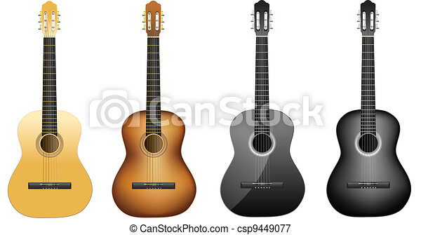 acoustic guitars - csp9449077