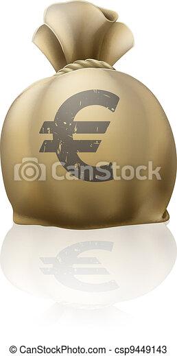 Euro sack - csp9449143