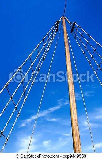 pirate mast prop
