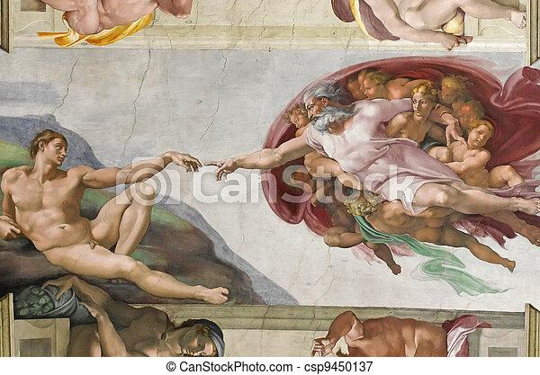 Creation of Adam - csp9450137