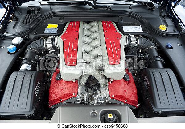 images de moteur voiture voiture 12 cylindre moteur dans une csp9450688 recherchez. Black Bedroom Furniture Sets. Home Design Ideas