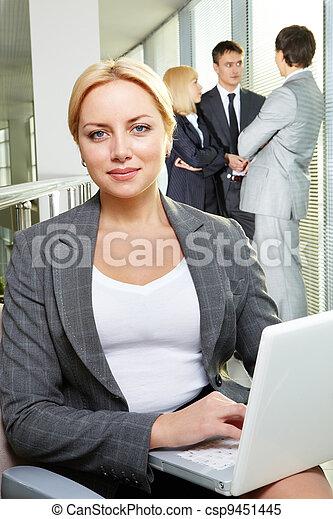 Pretty employer - csp9451445
