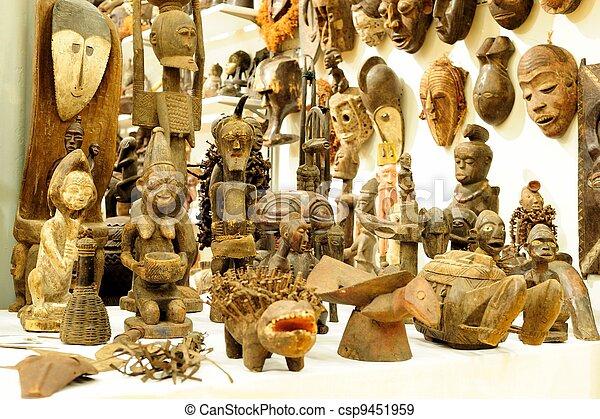 African handicraft - csp9451959
