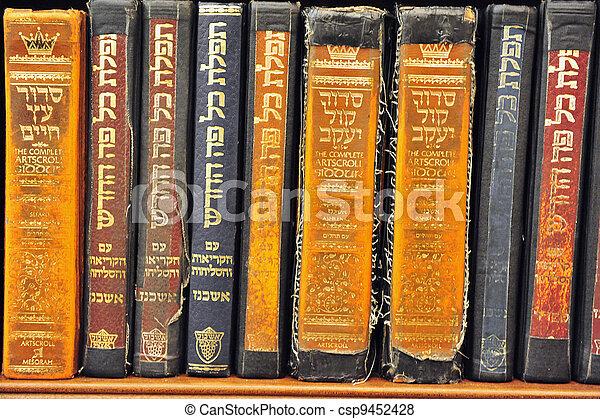 Old Torah books - csp9452428