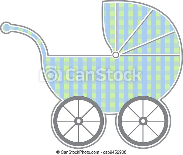 Baby Carriage - csp9452908