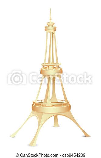 Eiffel Tower - csp9454209