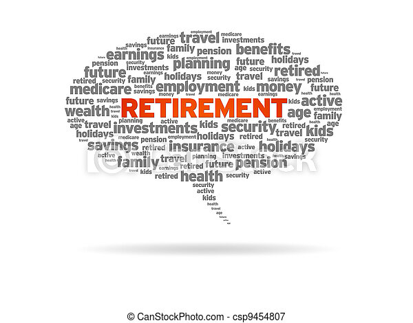 Pensionierung - csp9454807