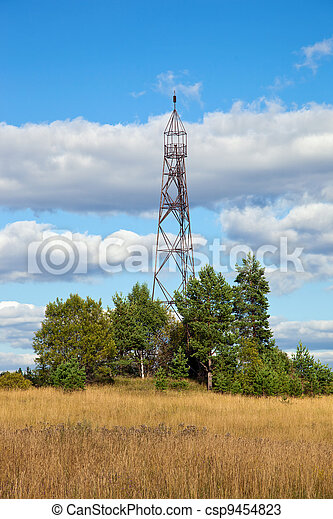 Geodetic points in Russia - csp9454823