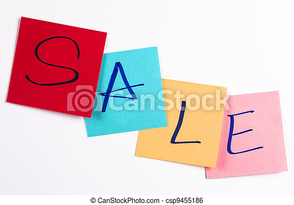 the idea of a pleasant shopping - csp9455186