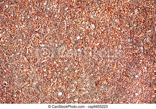 copper metal scrap materials recycling backround - csp9455223