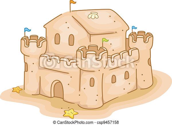 Sand Castle - csp9457158